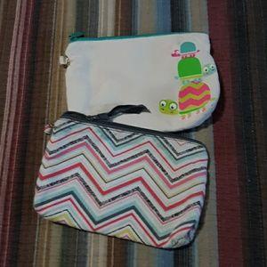 2 thirty one zipper bags